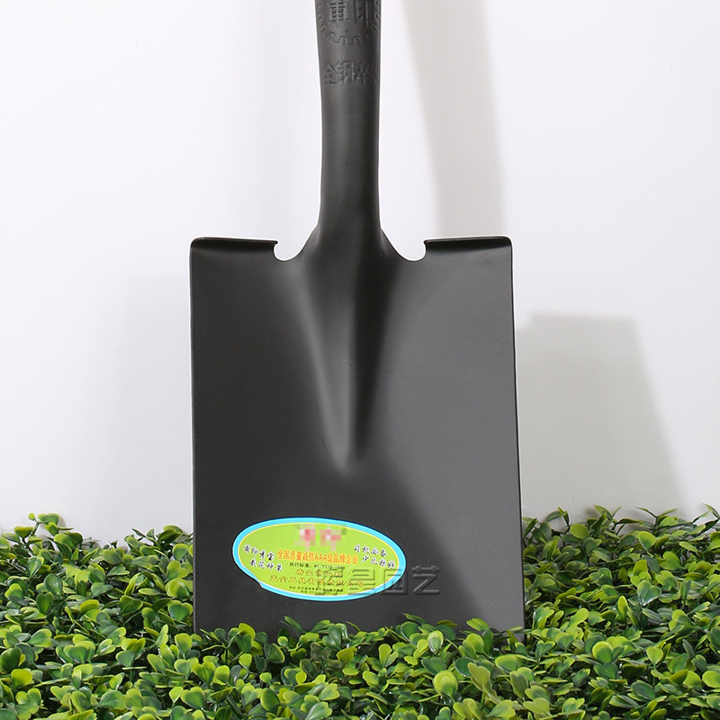 garden spade with wooden handle Farming tools plant trees and trees to use iron shovel
