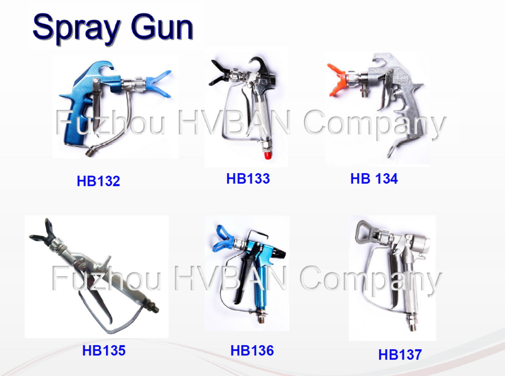 HB-137 high pressure sprayer gun