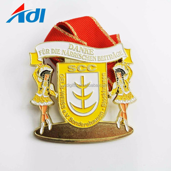 Wholesale Cheap Dragon Boat Metal Gold Manufacturer Medal