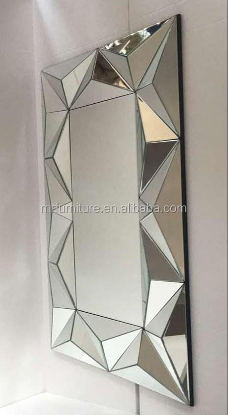 Aura veelzijdig art deco spiegel omlijst rechthoek for Spiegel your name
