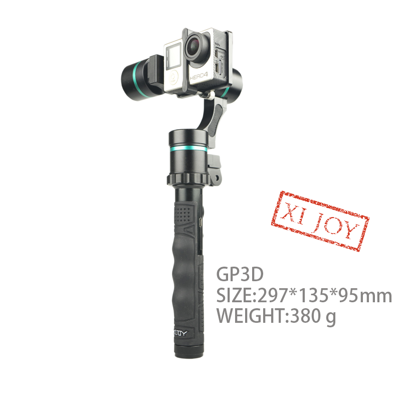 Photography equipment GP3D 3 axis brushless gimbal gopros camera stabilizer
