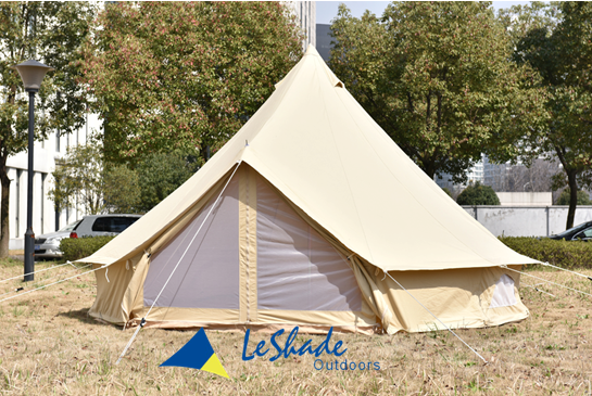 bell tents for sale with 540gsm ripstop PVC, waterproof zipped in groundsheet