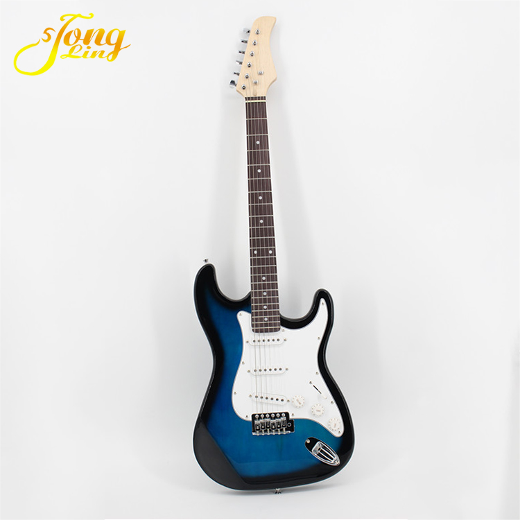 Colorful Solid ST Style children and kids Electric Guitar