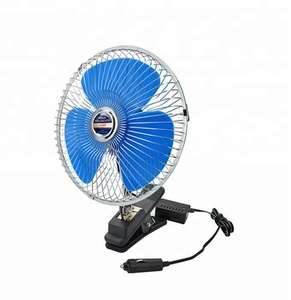 Various colors mini fan 6inch/8inch/10inch cooling 2 speed car fan