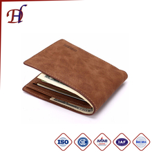 Wholesale Promotional Money Luxury Leather Wallet Case For Man and Handmade Fashion Wallets Rfid and Travel Leather Wallet