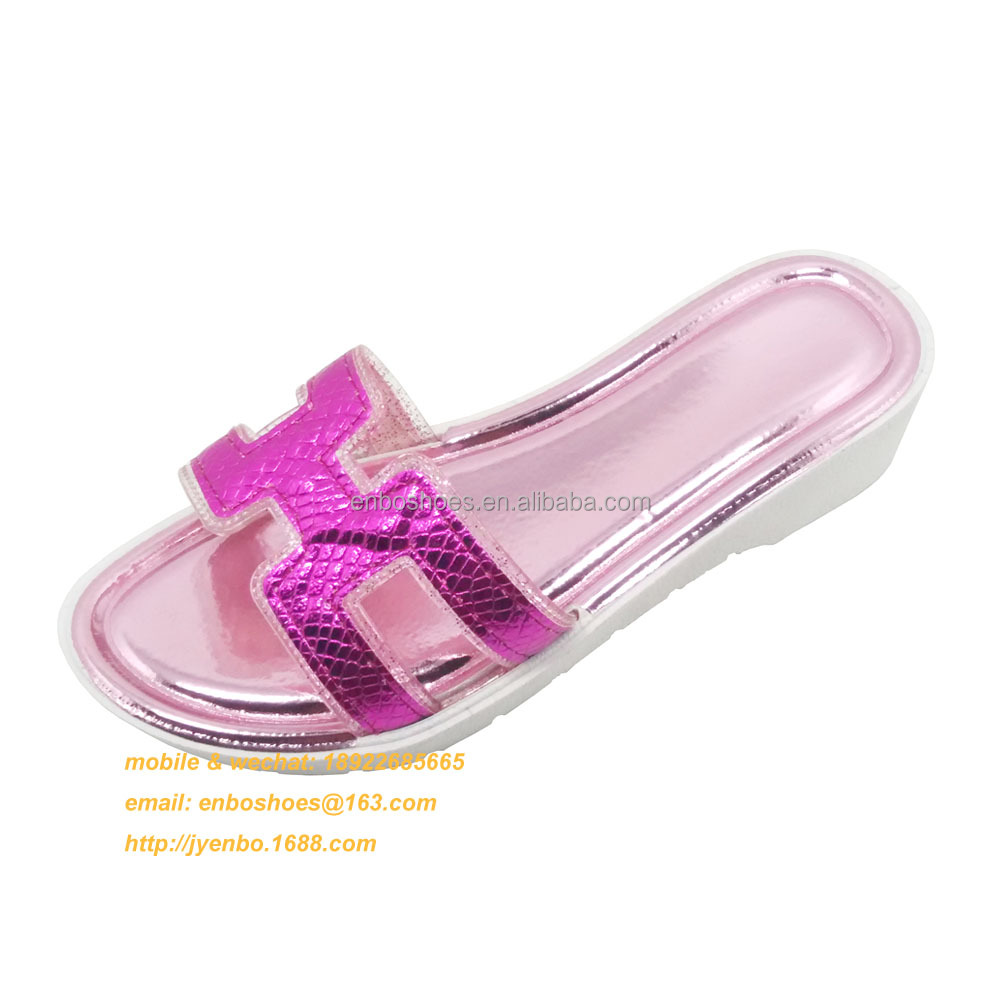 outdoor indoor PCU PVC ladies plastic slippers
