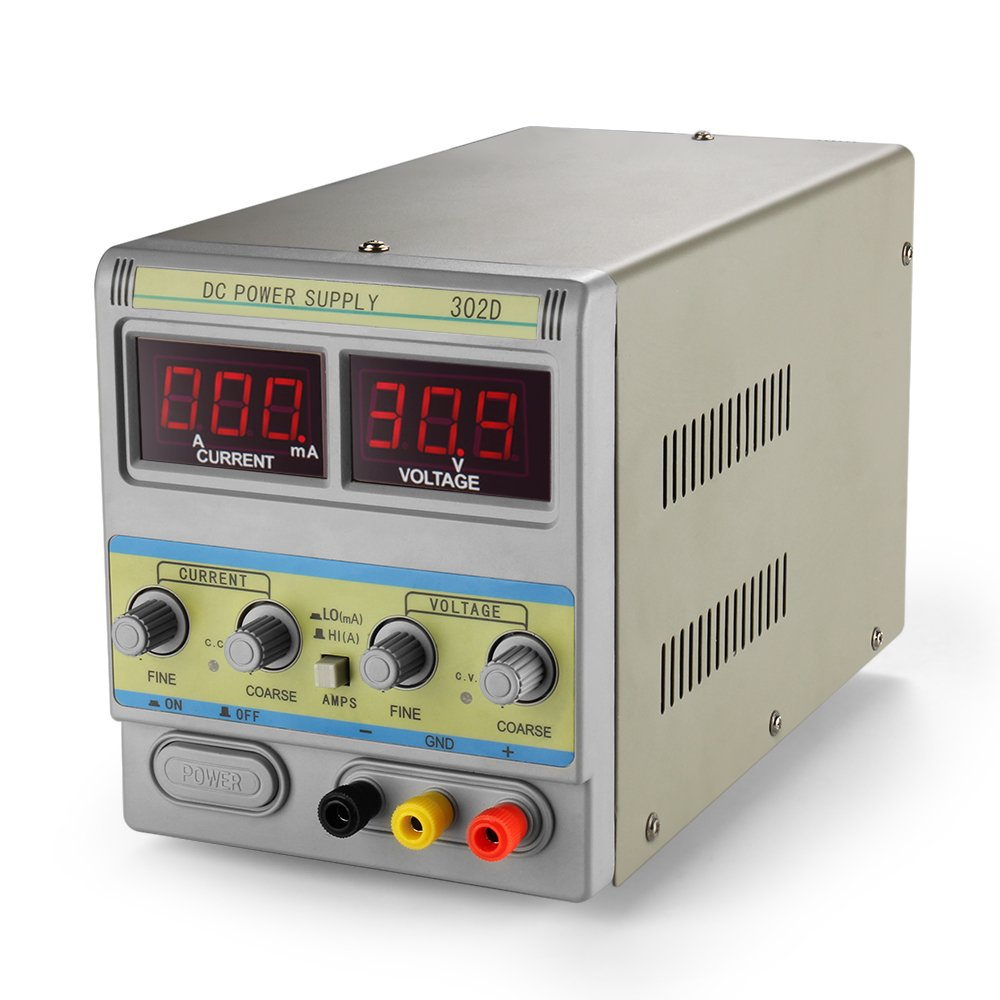 Cheap Lab Power Supply Circuit Find Deals Transformerless Electronic Circuits Get Quotations Flexzion Dc 30v 2a Adjustable Variable 110v 220v Regulated Switching Precision