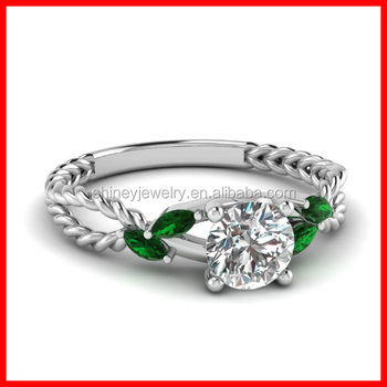 white gold emerald saudi arabia gold wedding ring price - Wedding Ring Price