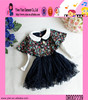 2015 Boutique Store Hot Sale Flower Autumn Dress Custom Alibaba New Arrived Picture Of Kids Casual Dress