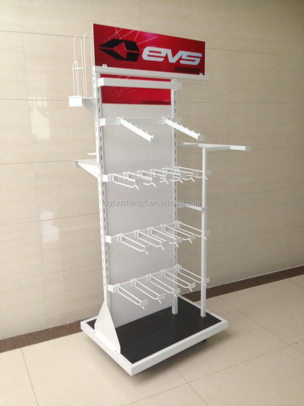 Wire and metal retail display, supermarket racks, pallet racks, hook ...