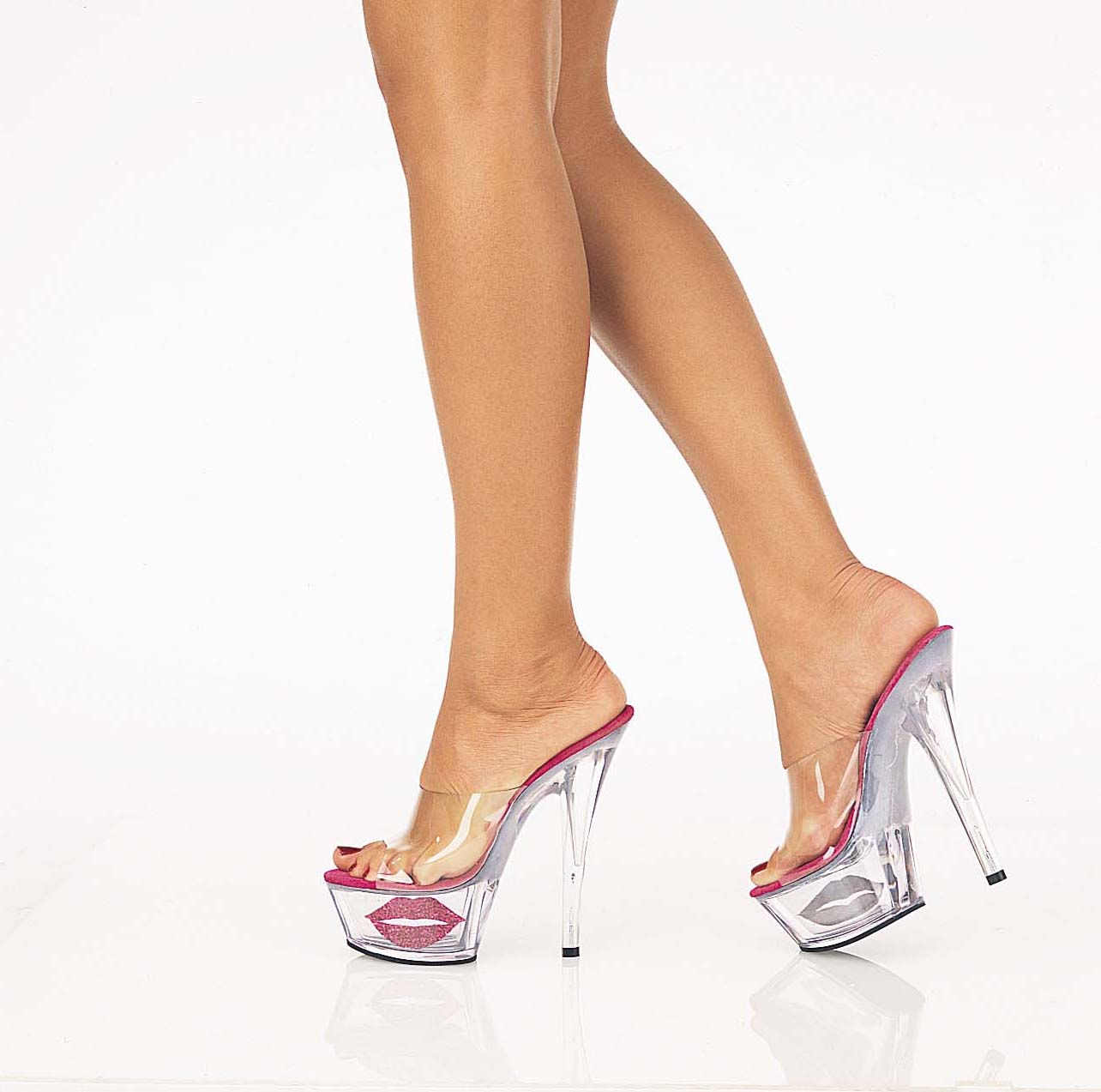 Sexy Clear High Heels - Is Heel