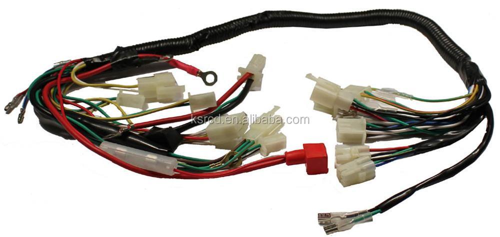 RCD Factory Automotive 2JZ-GTE Cable Car Jumper Waterproof Automotive Wire Cable