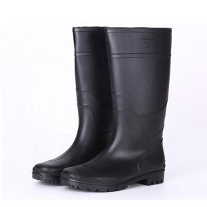 c28aed4d8b2 Black non safety cheap pvc rain gumboots