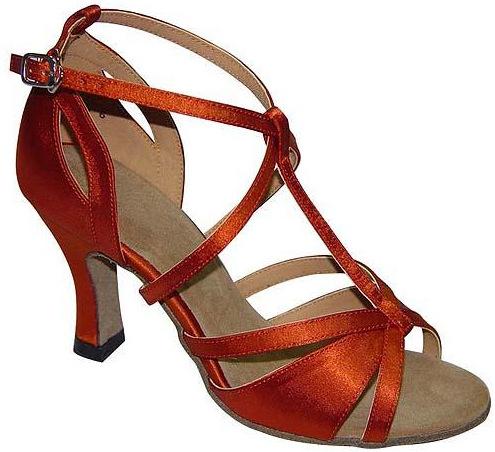 9cf0ac7ff4cb Get Quotations · Ladies sansha latin dance black silver orange square heel  quality PU cheap ballroom shoes free shipping