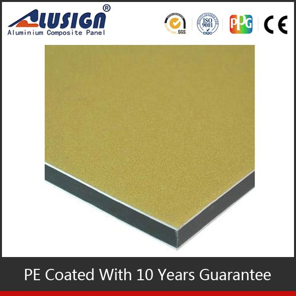 Alusign hot sell acp new style building construction materials/aluminium composite panel fixing