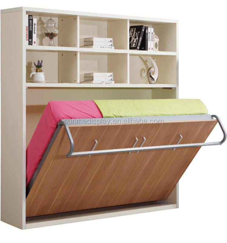 Murphy Bed Name Origin: Factory Price Queen Murphy Bed Kit Horizontal Hidden Wall