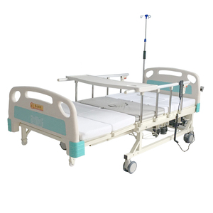 multi-function electric ABS Flat Medical adjustable icu hospital bed nursing care bed for patients disabled