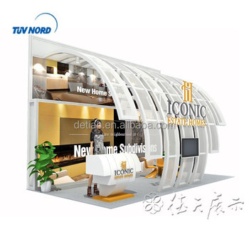 Exhibition Booth Materials : Portable exhibition stand modular exhibition booth used aluminum
