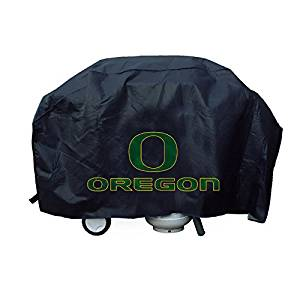 NCAA Licensed Deluxe Grill Covers - Oregon Ducks