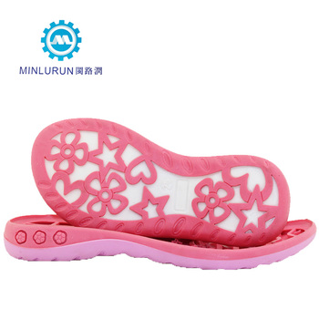 3918c3863 China factory women girl shoe sole PVC TPR shoe making materials. View  larger image