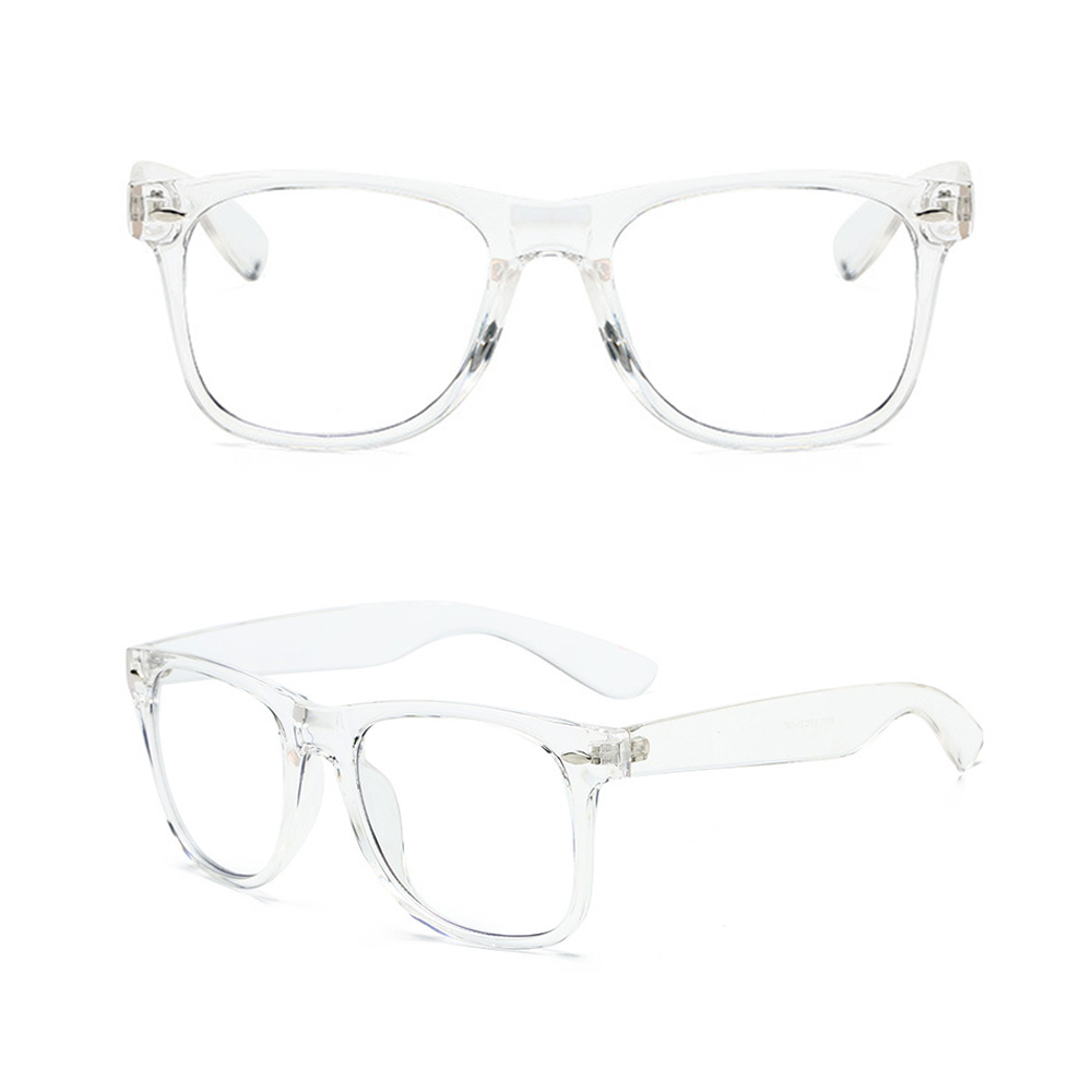 Fashion Retro Hadiah Komputer Eye Protection Clear 100% Anti Blue Light Blocking Kacamata