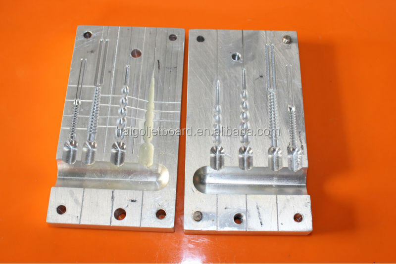Hand Poured Mould For Soft Bait Injection Soft Plastic