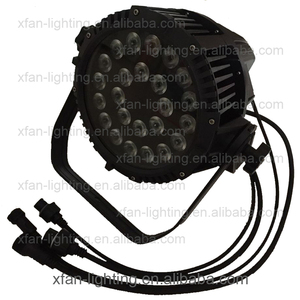 led 24*18W 6-in-1 RGBWAUV/24*15W 5-in-1 RGBWA/24*10W 4-in-1 RGBW wash outdoor waterproof IP65 par can stage light