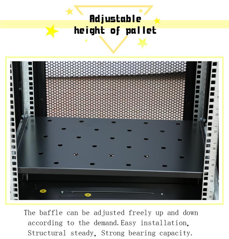 Computer apparatuur server netwerk kast 42u 19 inch staande kast