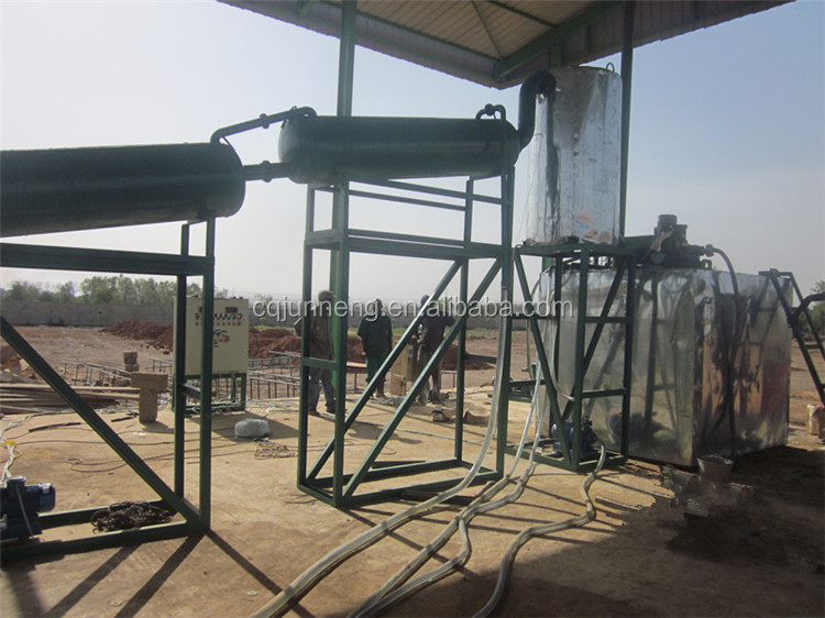 Advanced JNC-5 waste car/motor/truck/ship/marine/mineral/synthetic Oil recycling equipment
