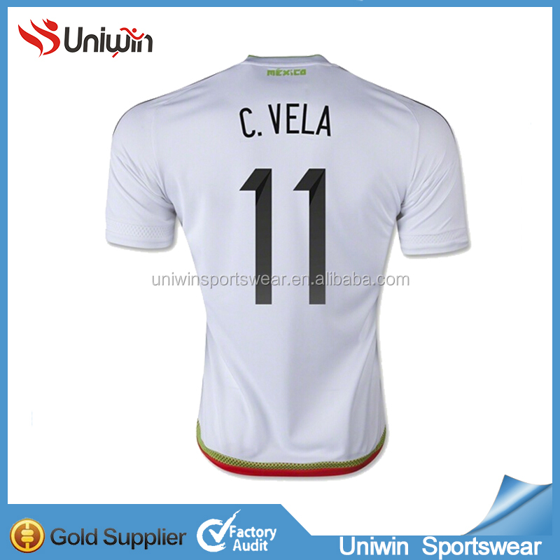 OEM Service Football Jersey 2017 White Soccer Jersey set
