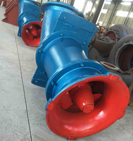Axial Flow vertical multistage submersible high volume water pump