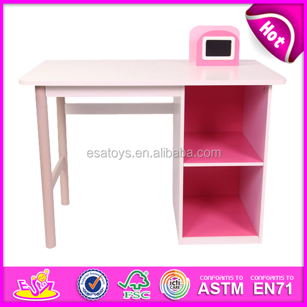 Multifunction Children Wooden Storage Chair,red Color Wooden Toy Kid Study  Table,best Seller