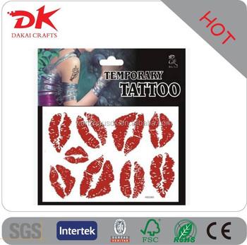 2015 Fashion Makeup Tattoo Design Lip Tattoo/cosmetic Lip Tattoo ...