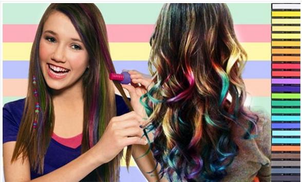 2016 New Arrival Hair Bleaching Powder Round Hair Dye Chalk - Buy ...