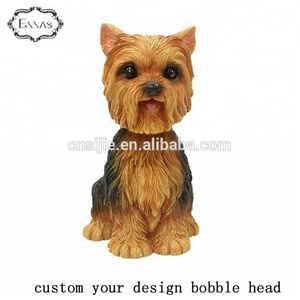 Resin custom animal bobblehead figurines dog bobble head dolls