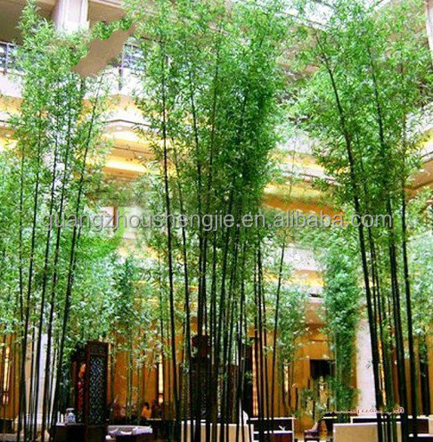 Q082631 Artificial Plants And Trees Indoor Bamboo Pole