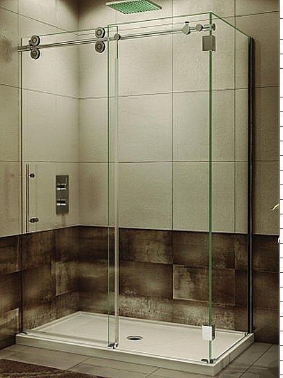 new bathroom design guardian sliding tempered glass shower door shower