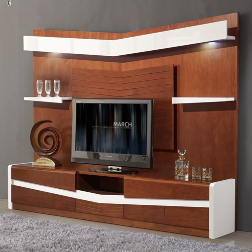 Modern Tv Wall Unit Furniture Luxury Cabinet With Lcd Showcase For Hall Units Design Product On
