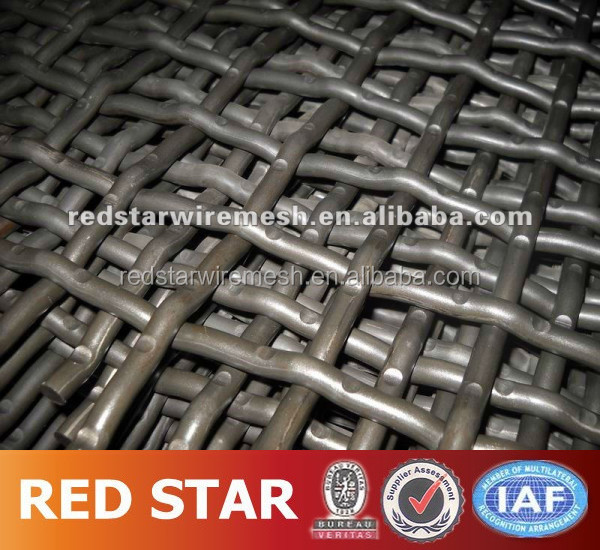 mine sieving vibratoring screen mesh with high quality and low price