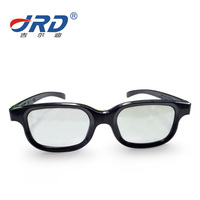 Environmental 3D Glasses Circular/Liner Polarization Cinema 3D Glasses For Cinema Movies JS606 3D Eyewear