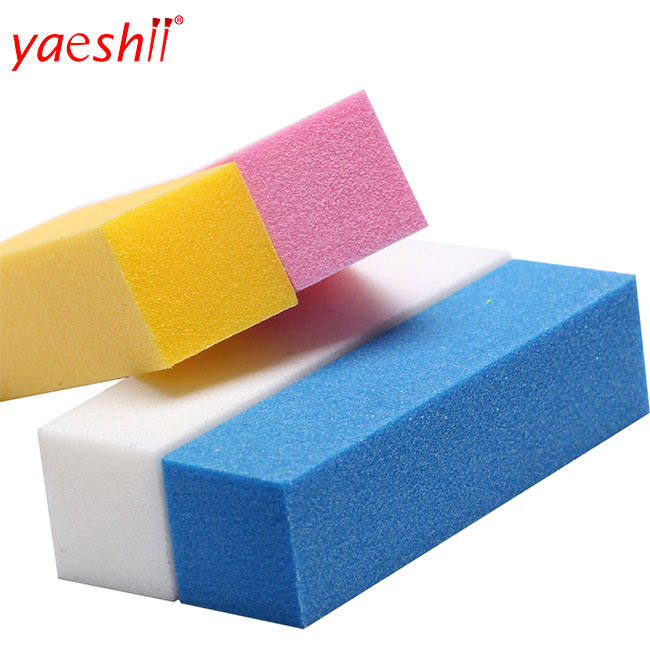 Yaeshii High Quality Nail Buffer File colorful Sponge Sandpaper Polishing Grinding Manicure Pedicure Sets
