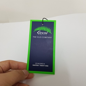 China custom Paper hang tags for garment,clothes ,cheap hang tags printing