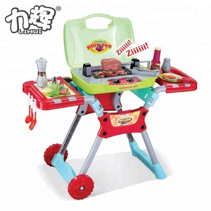 Children Toys Barbecue Toy Kids BBQ Set Toy With Music And Light
