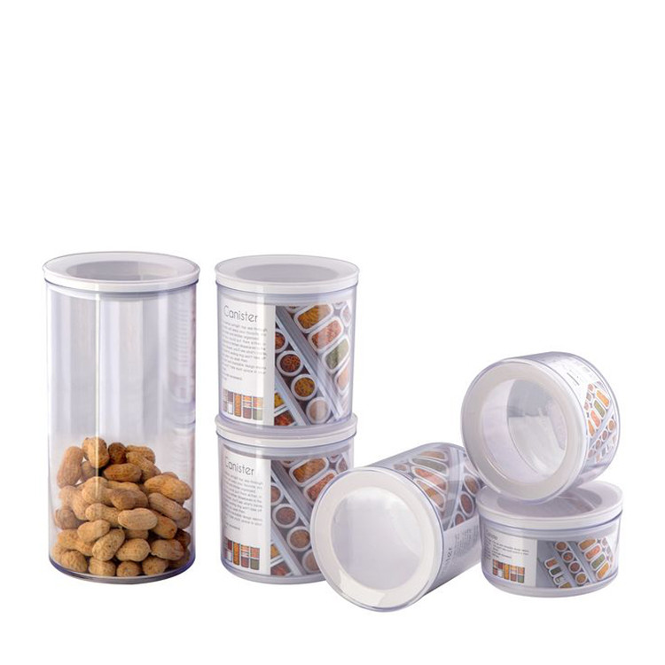 Varyag Home Kitchen Use Spice Jars Set Nut Fruit Canister With Lids Clear Glass Canisters Buy Clear Glass Canistersspice Jars Set Clear Glass