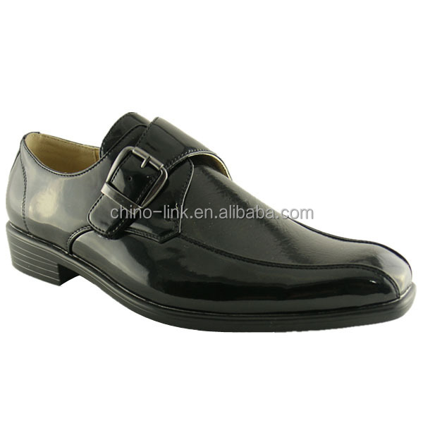 Classic design injection sole good quality man leather shoe
