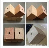 80x80x100mm chipblock chip foot for pallet /particle board to busan, south korea
