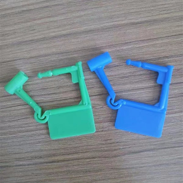 China supplier PP+PE plastic safety padlock seal
