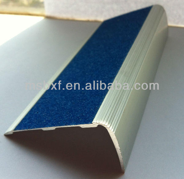 Anti Slip Surface/rubber Stair Nosing/anti Slip Aluminium Stair Nosing/ Laminate