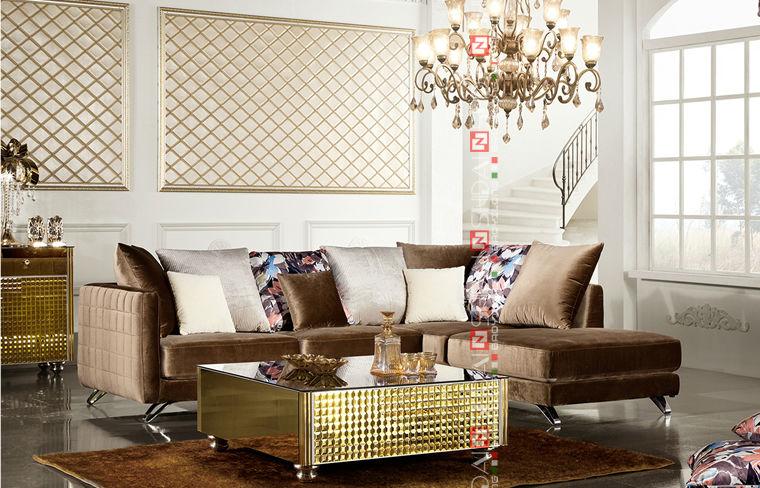 New Model China Sofa/ Modern Dubai Sofa Furniture / Latest Drawing Room Sofa  Set Design