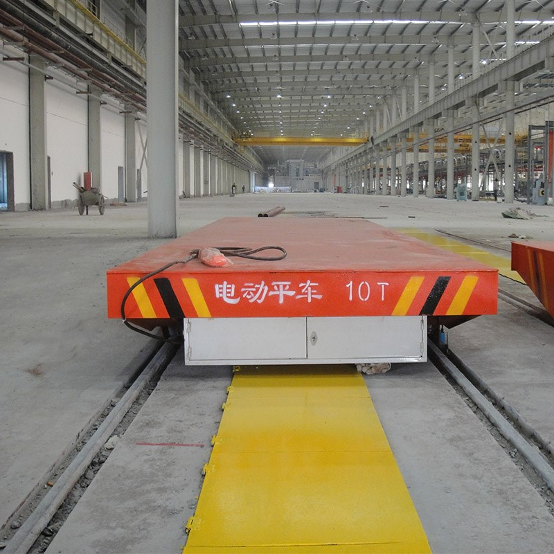 Kpc 50 Tons Electric Pallet Wagon For Industrial Transfer